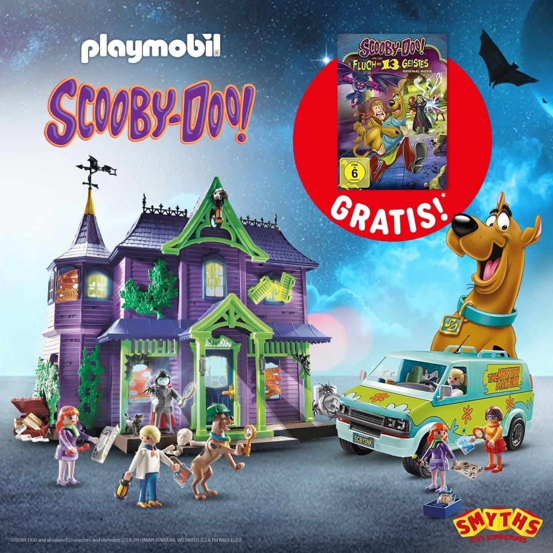 Gratis DVD beim Kauf von Playmobil Artikeln im Wert von mindestens 25€
