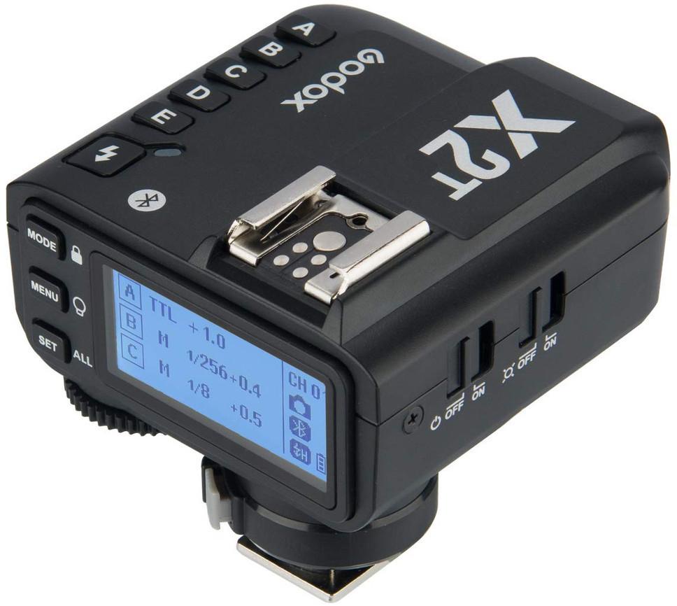 Godox X2T-C Funk-Blitzauslöser (für Canon-Kameras mit E-TTL II-Blitzautomatik, Bluetooth, USB-C)