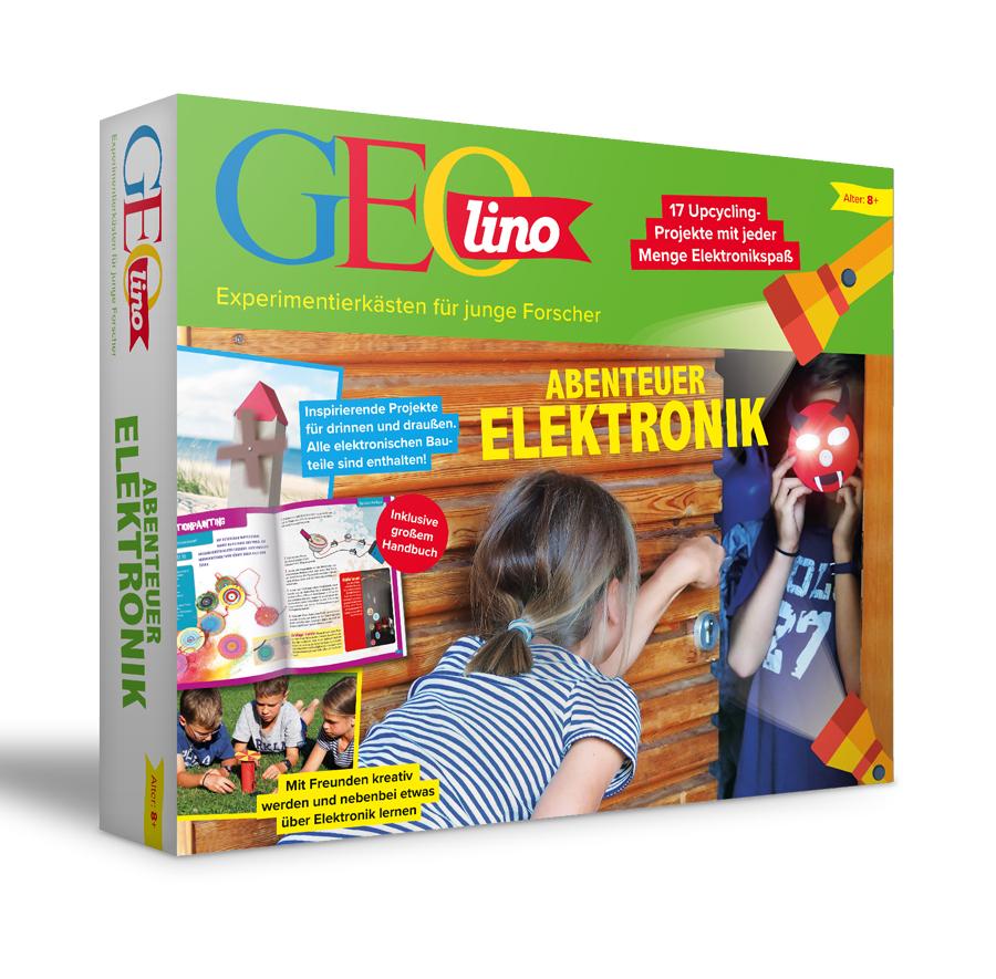 Franzis GEOLINO - Abenteuer Elektronik, 18 spannende Projekte für Kinder ab 8 Jahren