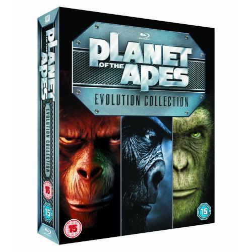 """Blu-Ray Box - Planet der Affen """"Evolution Collection"""" (7 Discs) für €28,58 [@Amazon.co.uk]"""