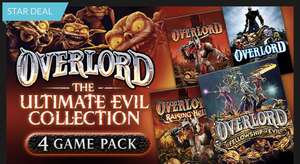 Overlord: Ultimate Evil Collection (Overlord, Overlord II, Overlord: Raising Hell und Overlord: Fellowship of Evil) für 0,89€ als Steam Key