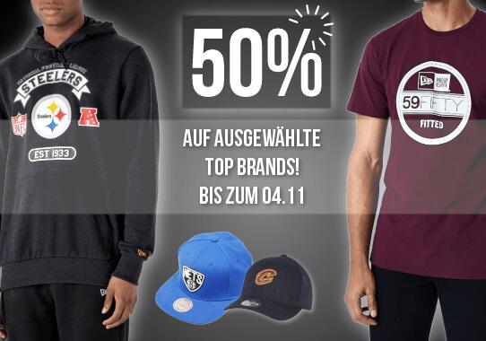 [Releasehiphop.de] 50% auf New Era, Mitchell & Ness, Adidas, 47 Brand, Napapijri, Ataque ...