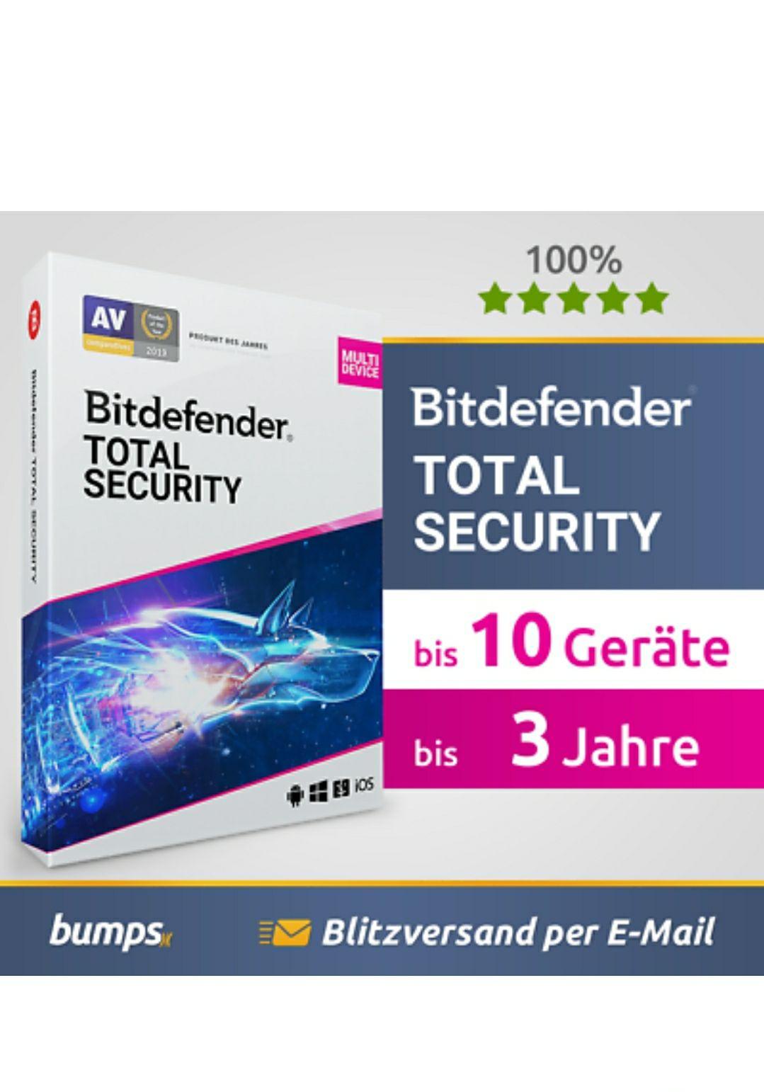Bitdefender Total Security 2021 – für 1 Gerät