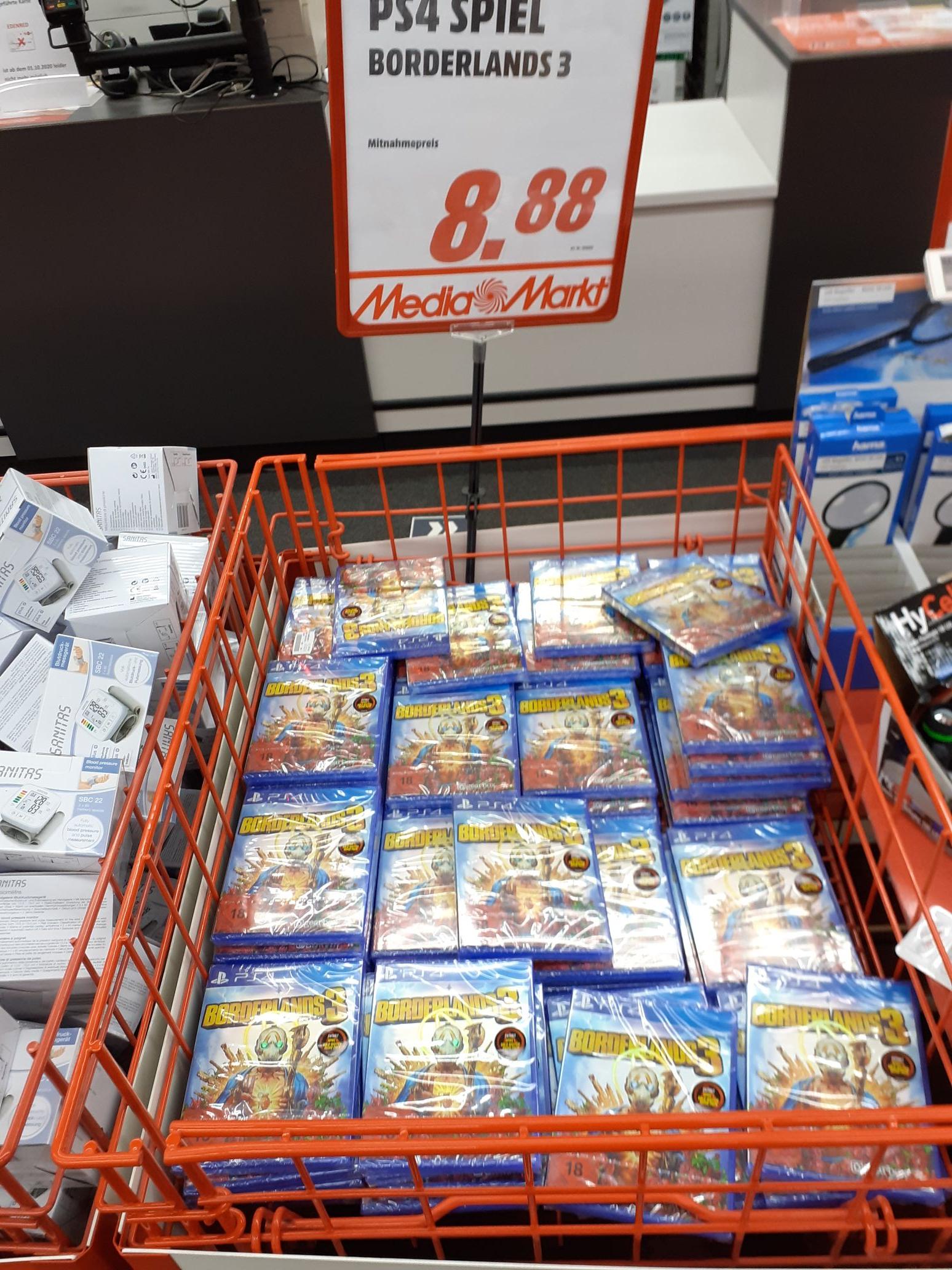 [Lokal Fulda] Media Markt: Borderlands 3 für PS4