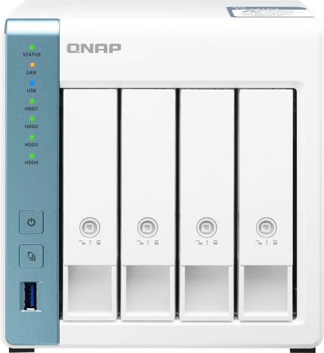 QNAP TS-431P3-2G NAS System 4-Bay (0/4 HDD/SSD, 1x 2,5GbE LAN, 1x GbE LAN, 2GB RAM, AL314)