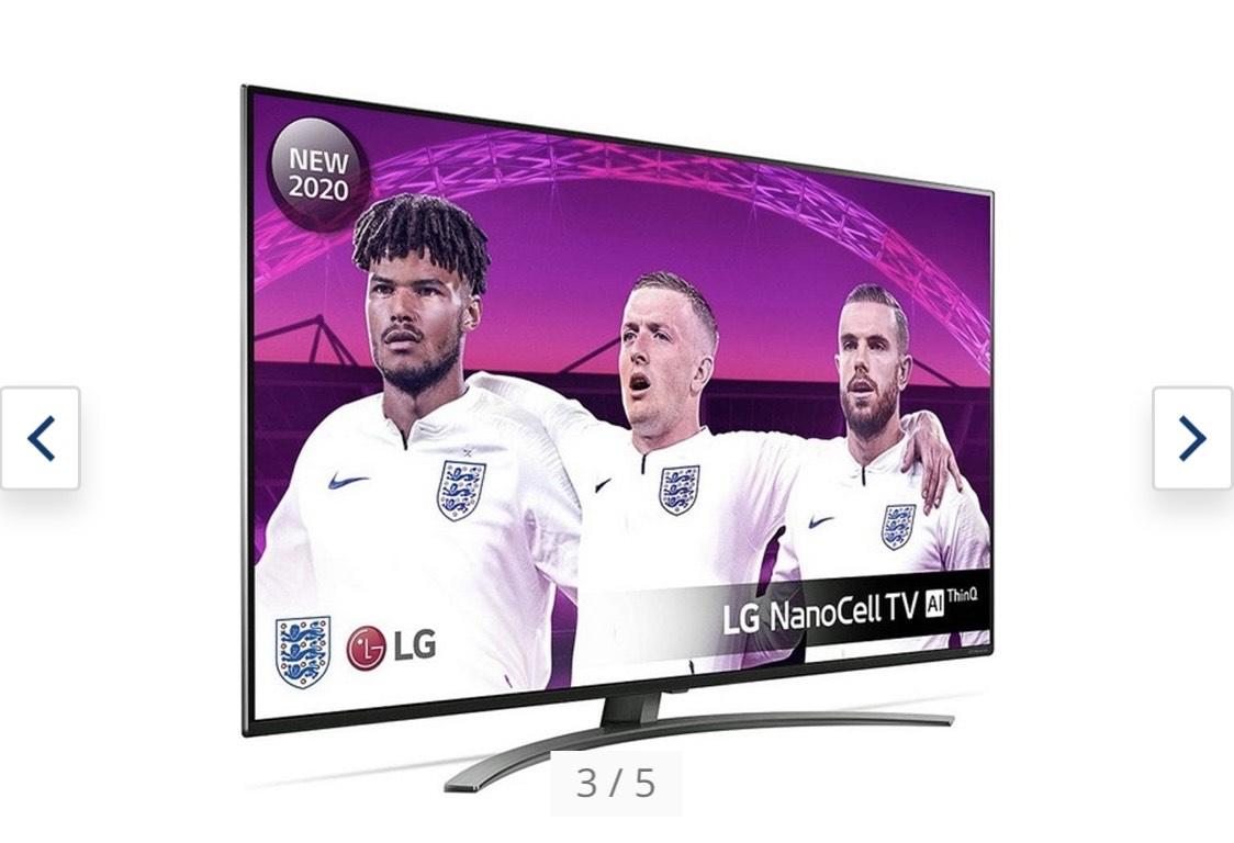 Smart TV LG 65NANO866 65 HDMI 2.1 4K Ultra HD NanoCell WiFi Schwarz