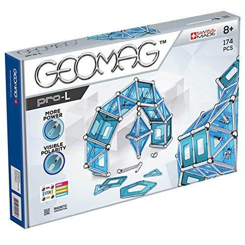 [Amazon] Geomag, Pro-L, 025, Magnetkonstruktionen und Lernspiele, Konstruktionsspielzeug, 174-teilig