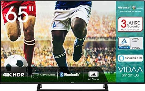 "Hisense 65AE7200F - 65"" 4K UHD Smart TV (VA, Direct LED, 60Hz, VIDAA U) 2020"