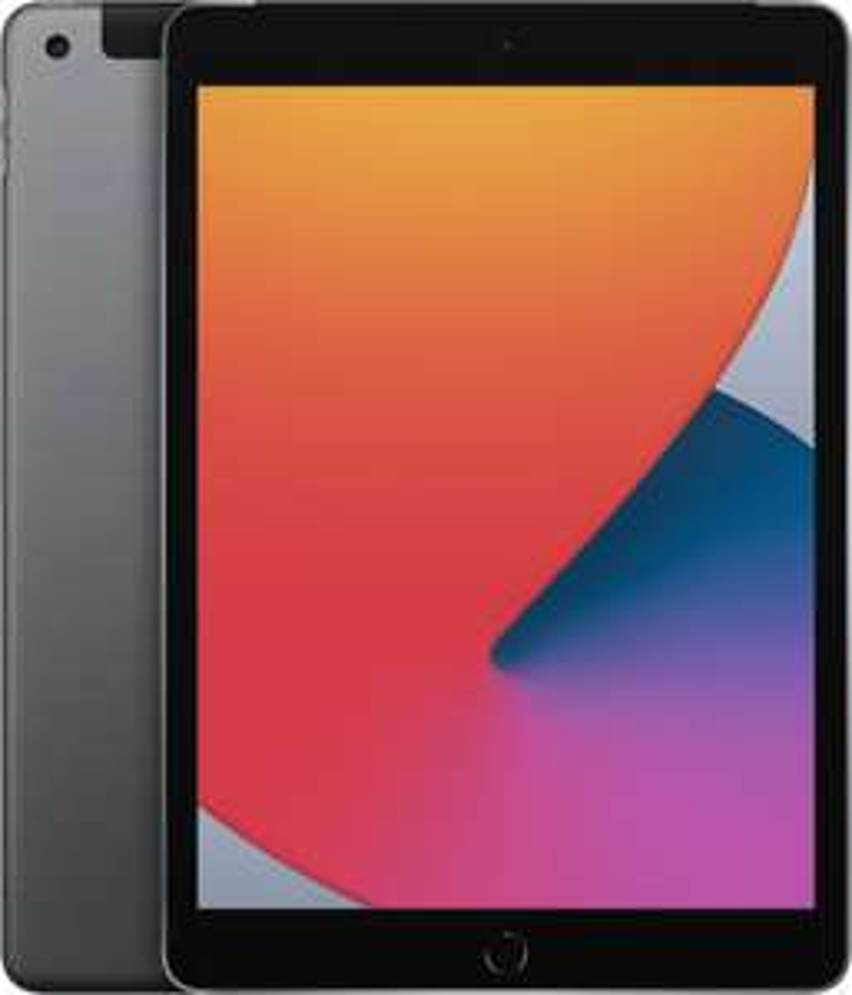 "[sbdirect24] Apple iPad 10.2"" 128GB, LTE, grau - 8. Generation / 2020 (MYMM2FD/A)"