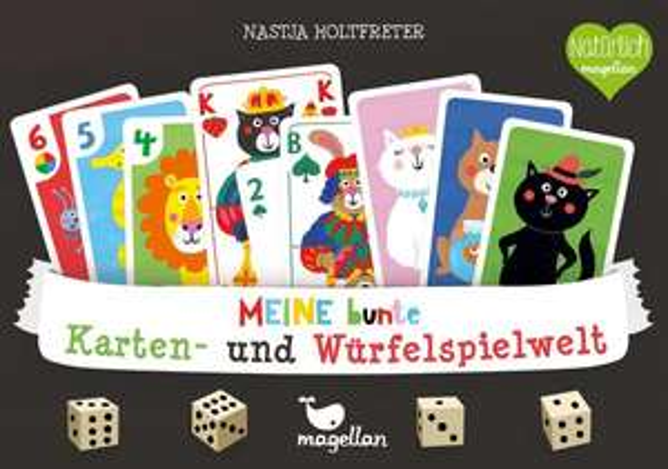 [Thalia Club] Meine bunten Kartenspiele / Würfelspiele (Kinderspiele) von Magellan
