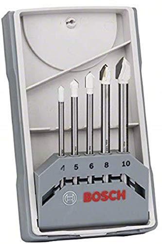 Bosch Professional 5tlg. Fliesenbohrer Set CYL-9 Ceramic (für Fliesen, Keramik, Porzellan) [Prime]