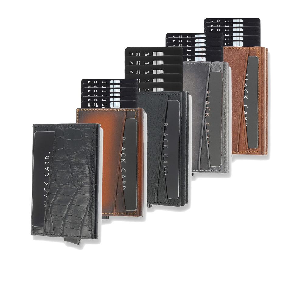 Solo Pelle Ledergeldbeutel mit RFID Schutz für bis zu 8 Karten (5 verschiedene Farben) für 24,90€