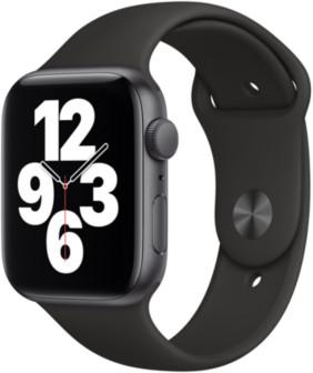 Apple Watch SE 44mm GPS Sportarmband schwarz usw. ab 280,74€ / 40mm Variante ab 262,30€ / Cellular 40mm für 306,18€ o. 44mm für 332,46€