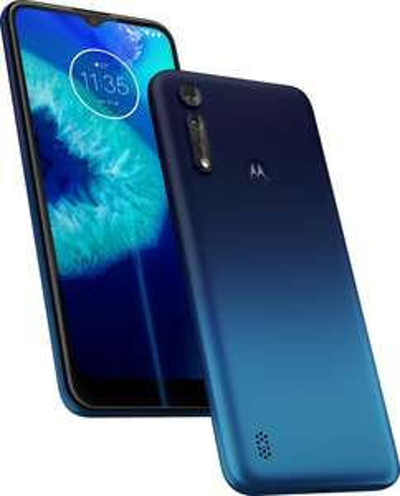 "Motorola Moto G8 Power Lite - 6.5"" Dual-SIM Einsteiger-Smartphone (4GB/64GB, 5000mAh) in royal blue"