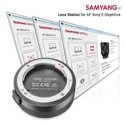 Samyang Lens Station für AF Objektive Sony E-Mount