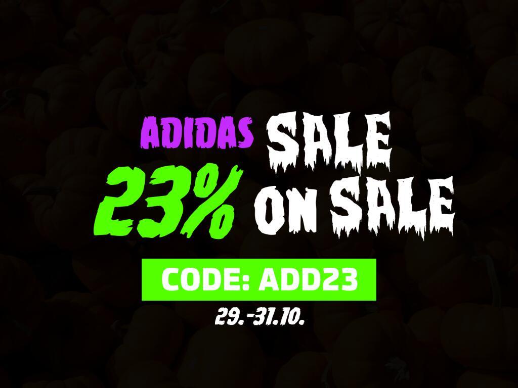 [afew.de) SALE ON SALE - ADIDAS -> 23% OFF auf Adidas Produkte im Sale