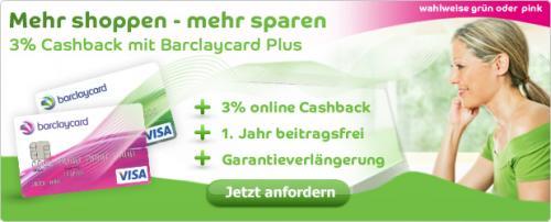 Ihre Rückkehr - mit der neuen Barclaycard Plus (30€ Guthaben und viele weitere Vorteile)