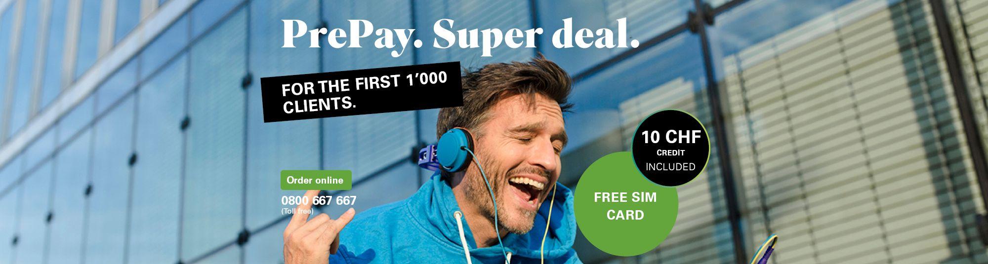 Lokal Schweiz - Salt Prepaid mit 10CHF gratis (sowie Sunrise 4.90 CHF, statt 19.90 CHF)