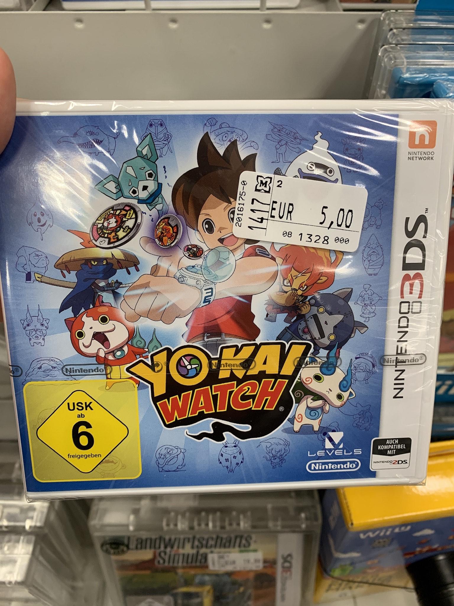 Müller: Yo-Kai Watch (3DS)