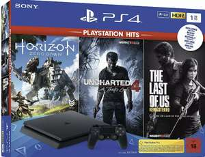 SONY PlayStation 4 Slim 1 TB + Uncharted 4 + The Last of Us USK18 B-WARE