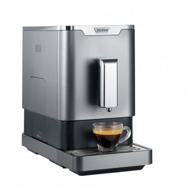 Severin Kaffeevollautomat KV 8090, 1,1l Tank, Kegelmahlwerk [Penny]