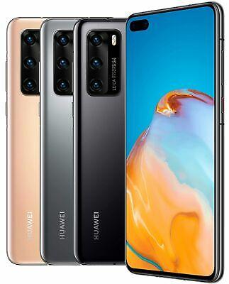 "Huawei P40 DualSim 128GB 5G LTE 6,1"" OLED 50 MPX 4K 8GB RAM silber (Neu: Sonstige, Rückläufer etc)"