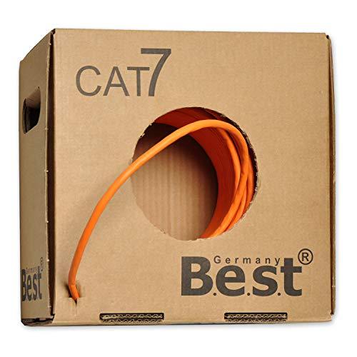 [PRIME] 100m CAT.7 Verlegekabel BEST Gigabit Netzwerkkabel KUPFER Lan 1000Mhz S/FTP