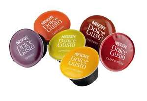 [Chococino/Capuccino/Lungo/Machiatto] Dolce Gusto 6 Packungen - 96tlg. -  2,09€/Packung -