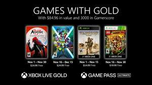 Xbox Games with Gold - November