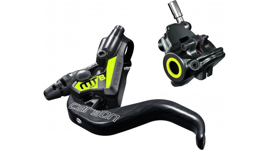Magura MT8 SL Flatmount Scheibenbremse hinten/vorne 220cm Leitungslänge || hibike.de