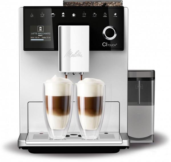 Melitta F 630-101 CI Touch Kaffee-Vollautomat silber
