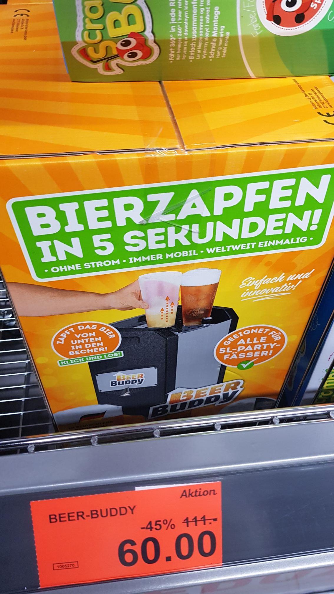 (Lokal Vitacenter Chemnitz) Bier Zapfanlage