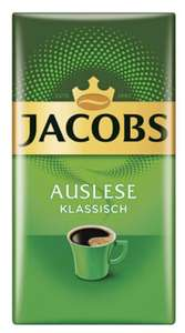 Jacobs Auslese Filterkaffee, 500g für 2,93 Euro [Penny]