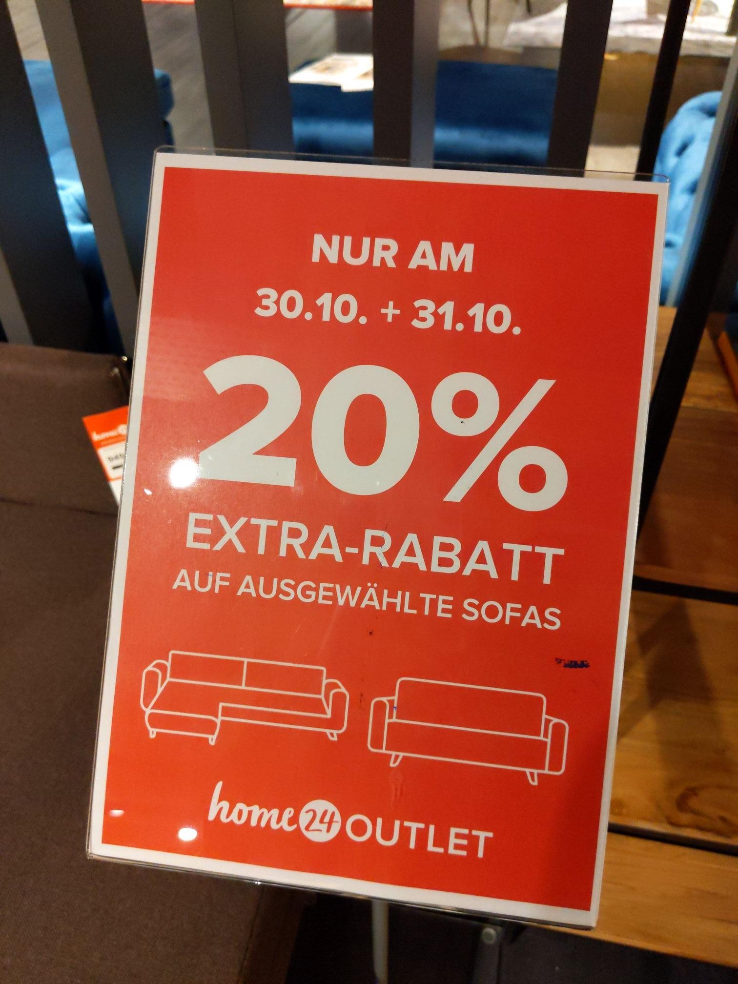 Home24 Outlet Neu Ulm 20% Rabatt