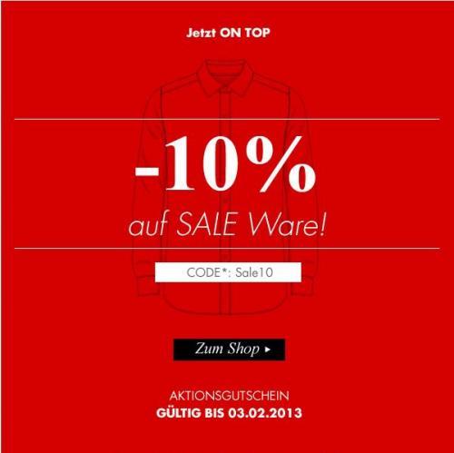 [Seidensticker] 50% Sale + 10% ON TOP + 5 € Newsletter - NUR NOCH HEUTE