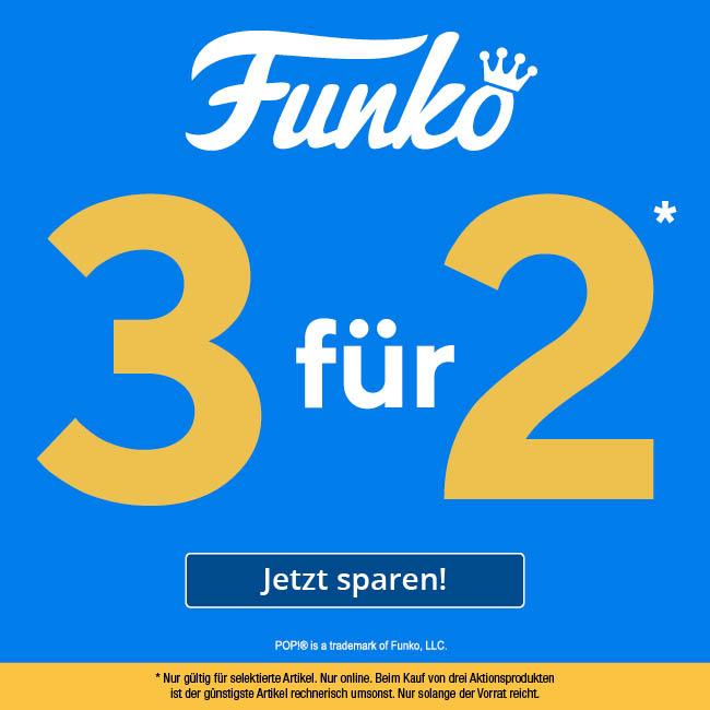 EMP - Ein FUNKO POP! geschenkt - Kauf 3 zahl 2!
