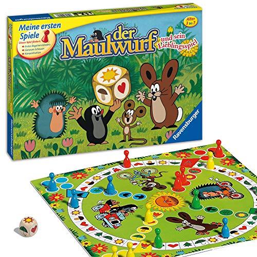 [Amazon oder MM] Ravensburger 21570 - Der Maulwurf und sein Lieblingsspiel - Spieleklassiker für Kinder