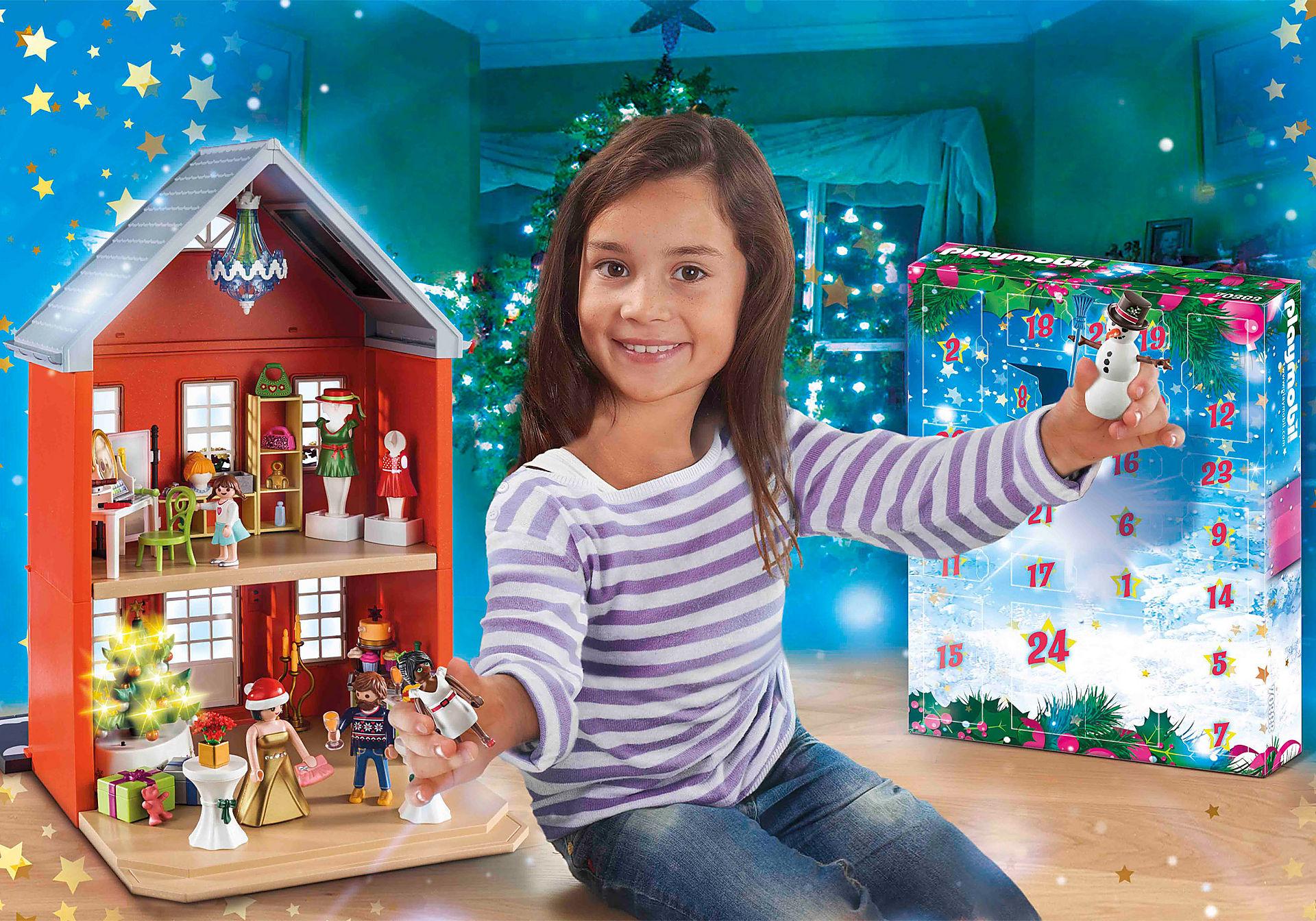 """Playmobil Großer Adventskalender """"Weihnachten im Stadthaus"""""""