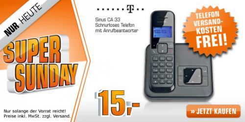 Telekom Sinus CA 33 Telefon für 15€ (Preisvergleich: 24,90€)