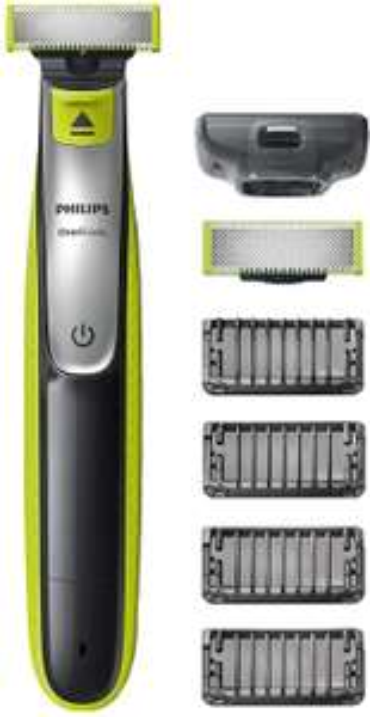 Philips OneBlade QP2530/30 Rasierer mit 2 Klingen + 4 Trimmaufsätze (Amazon.fr)