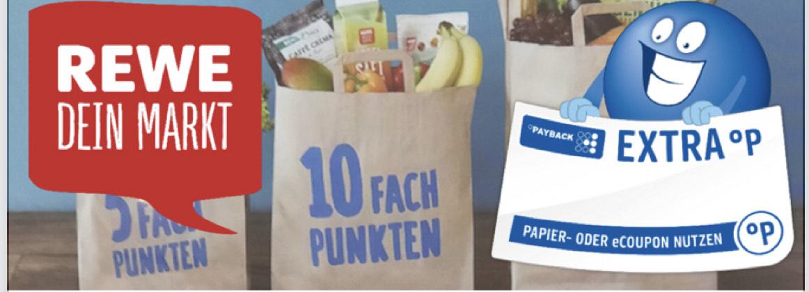 [Payback] 10fach punkten beim nächsten Einkauf bei Rewe ab 2€ | Gültig bis 29.11.2020
