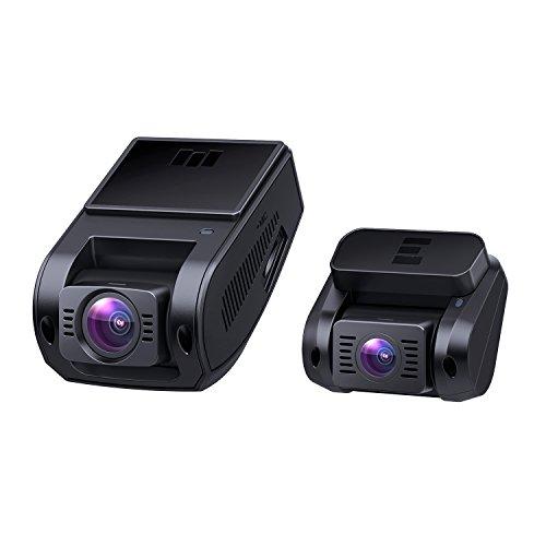 [Amazon Prime] AUKEY DR02 D Dashcam ( 1080P Front und Rück Autokamera, 170 Grad Weitwinkel, Nachtsicht, G-Sensor, Bewegungserkennung )