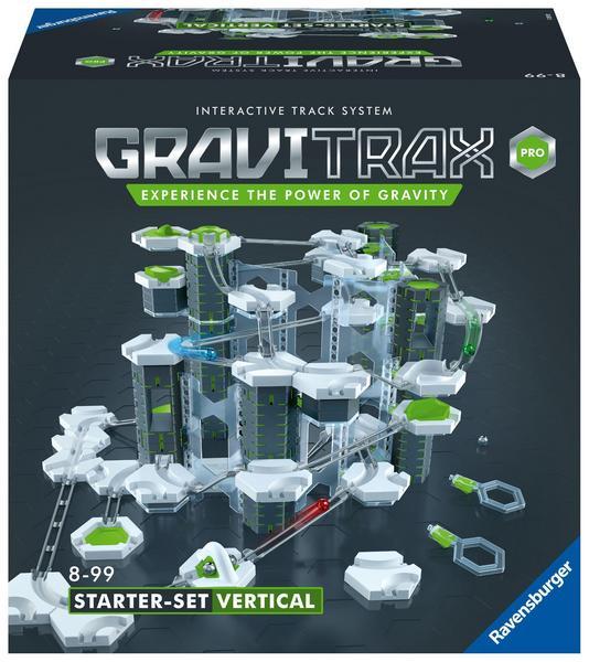 Ravensburger GraviTrax Vertical Starter Set - flexible Kugelbahn mit vielen Möglichkeiten