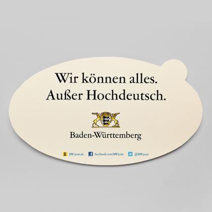 verschieden Baden - Württemberg Aufkleber