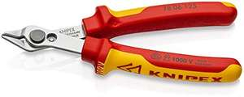 KNIPEX Präzisionszange Electronic Super Knips® VDE 125 mm [Prime]