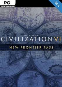 Sid Meier's: Civilization VI - New Frontier Pass PC - DLC [VPN Türkei]