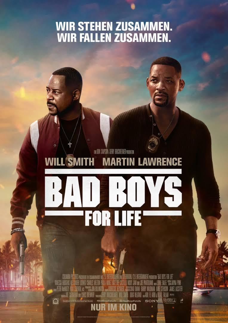 (iTunes) Bad Boys For Life (4K-Stream Kauf) Dolby Vision/Atmos für €6,99 übers WE