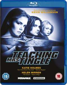 Blu-Ray - Tötet Mrs.Tingle! (Teaching Mrs.Tingle) für €5,75 [@Zavvi.com]