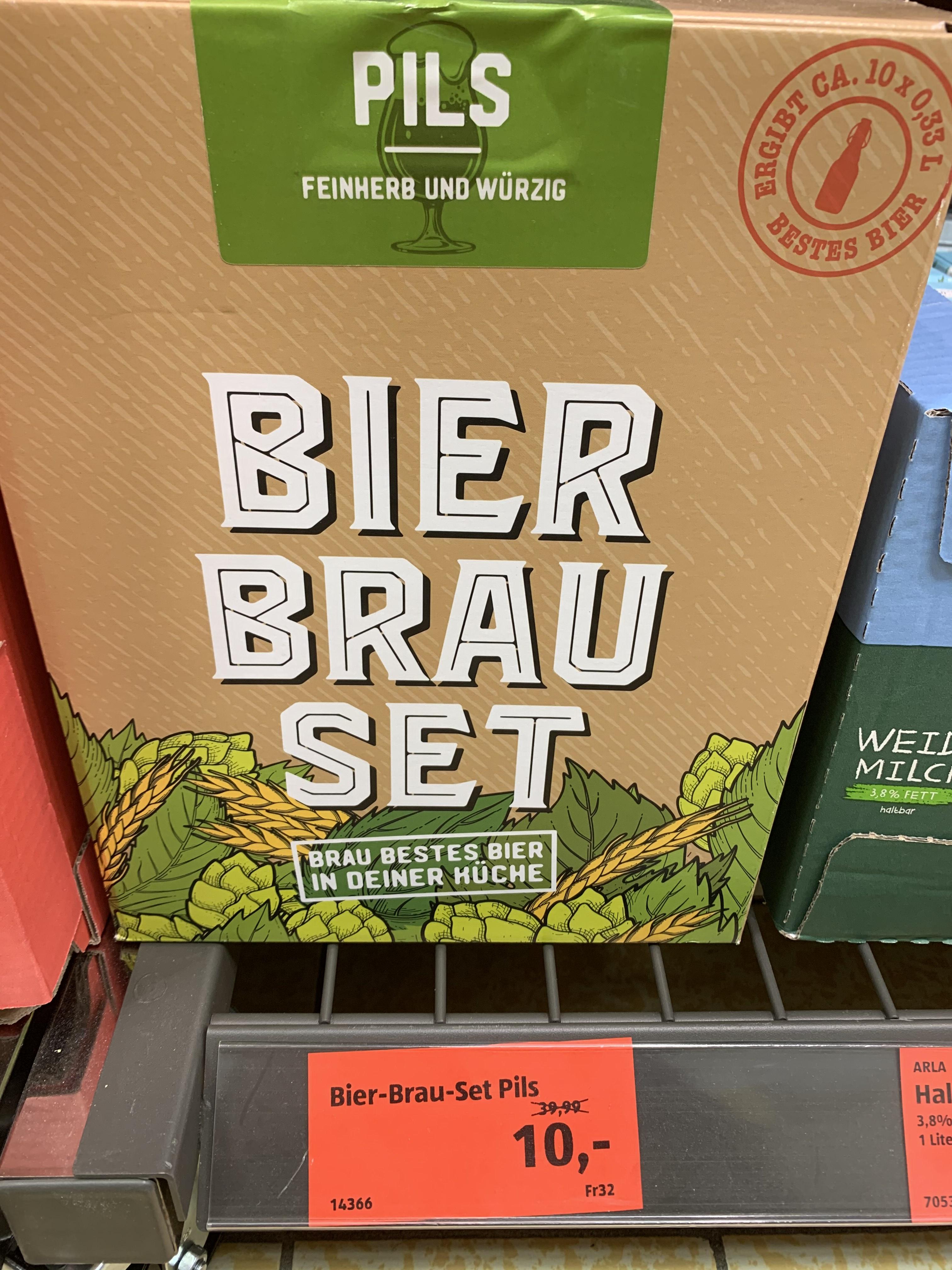 Bier-Brau-Set Pils (Lokal)