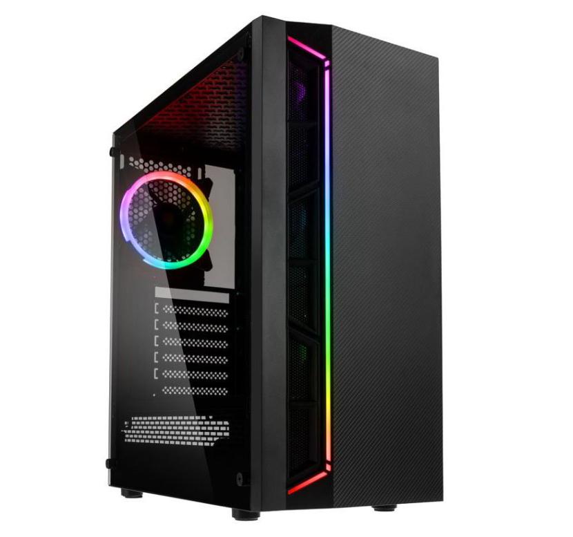 599 Euro Gaming PC Ryzen 3 3100, 16GB RAM, RX 5500 XT 8GB und 500GB SSD